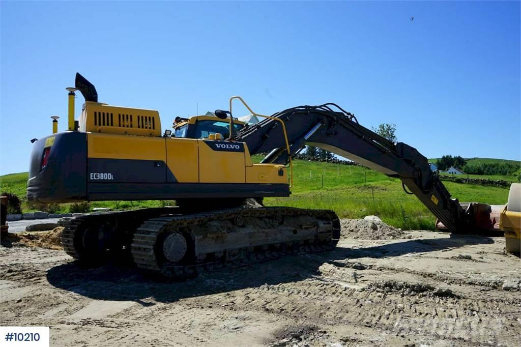 Volvo EC380DL Excavator with GPS, central grease. approx