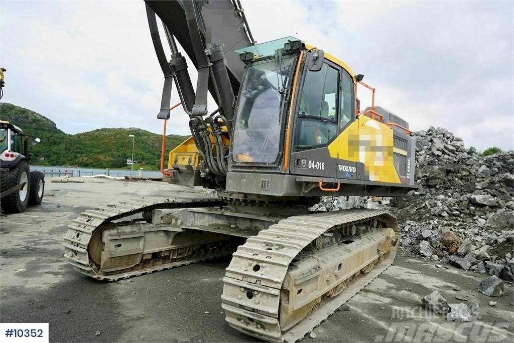Volvo EC480EL Excavator with Trimble GPS