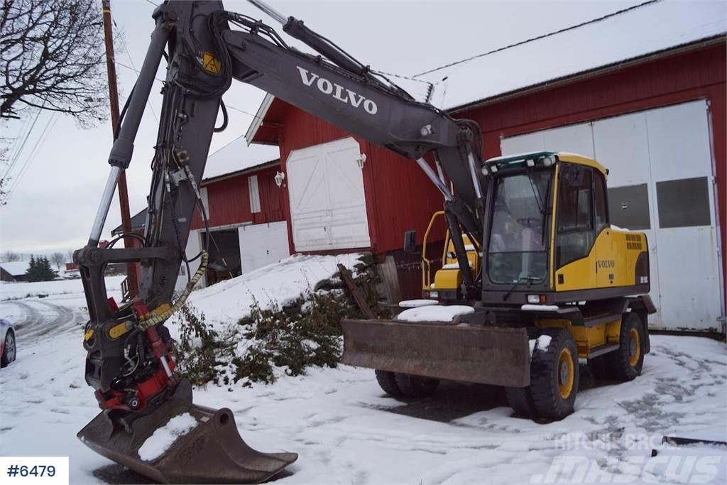 Volvo EW160C w / rotor tilt