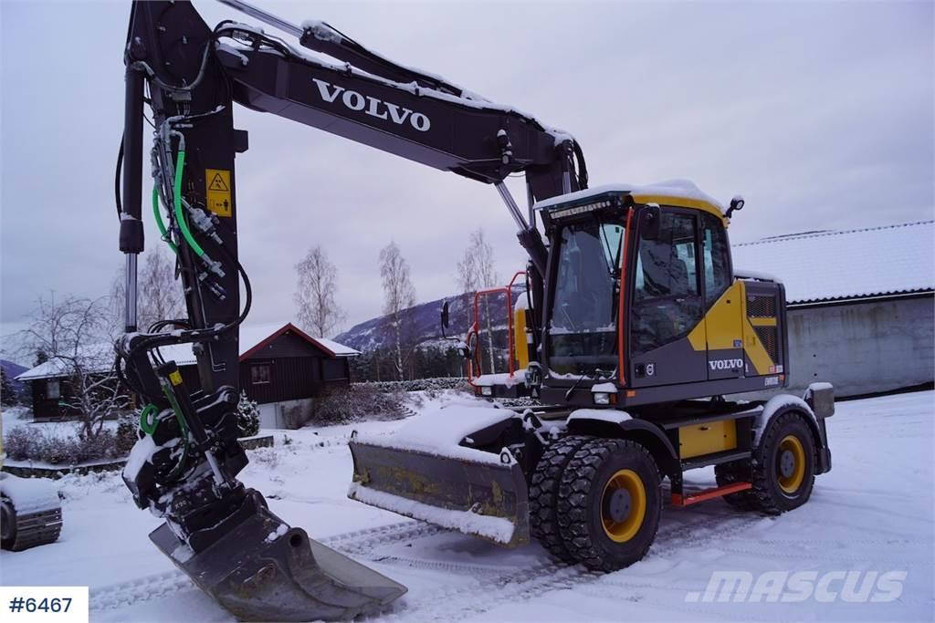 Volvo EWR170E w / Rotortilt & OilQuick
