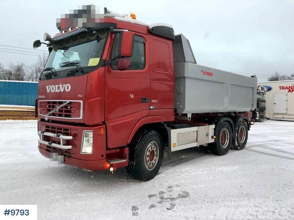 Volvo FH 520 Snow rigged tipper truck w/ asphalt tub