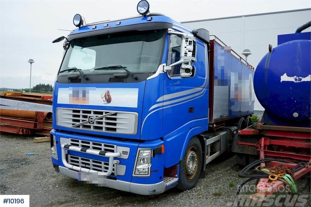 Volvo FH12.480 6x2 with Simon Moos KSA build. Repair obj