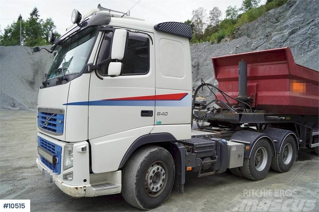 Volvo FH12 540 6x4 trekkvogn m/hydr og Damm tippsemi fra