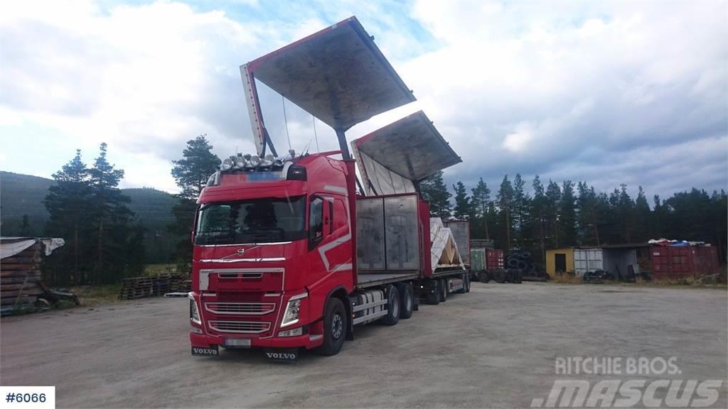 Volvo FH13 6x2 box truck w/ 2010 mod. Trailerbygg boxtra