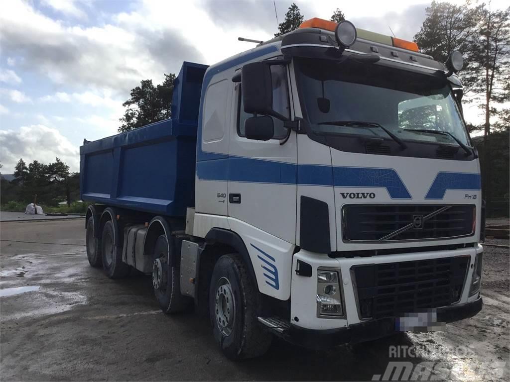 Volvo FH16 540 8x4 tipper truck