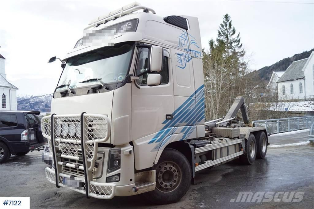 Volvo FH16 750 6x4 Hook lift with compressor and hydraul