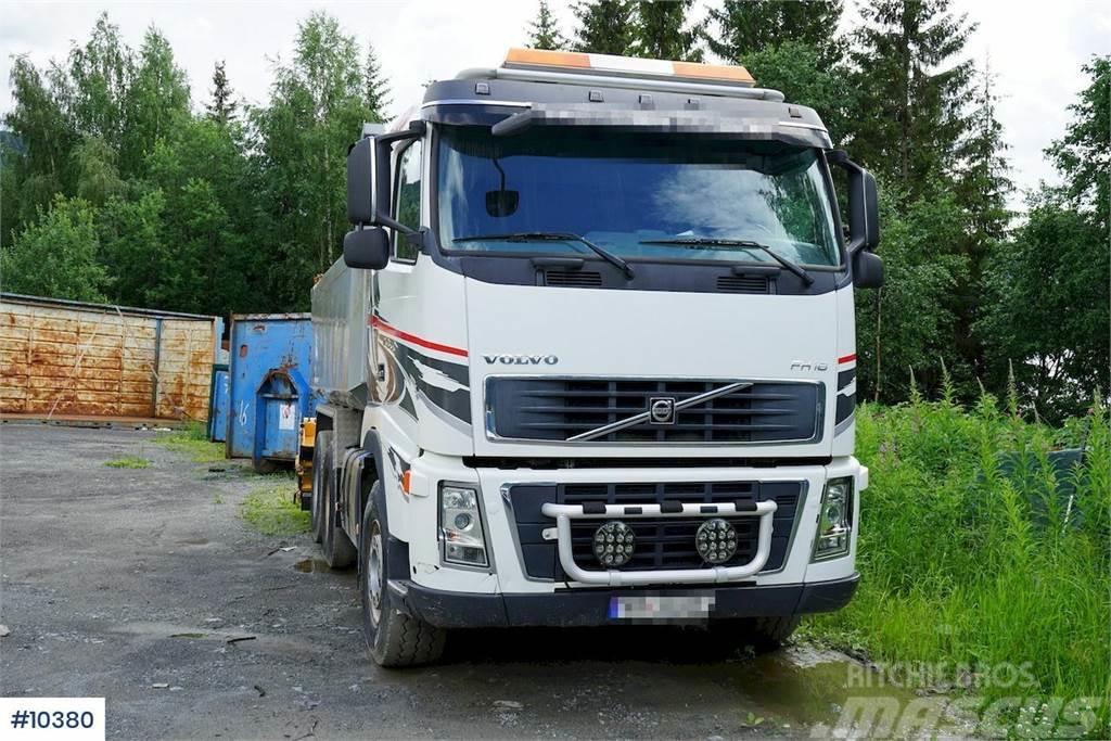 Volvo FH16 Steel suspension. Tipper truck