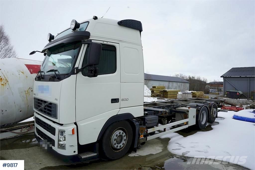 Volvo FH400 containerchassis