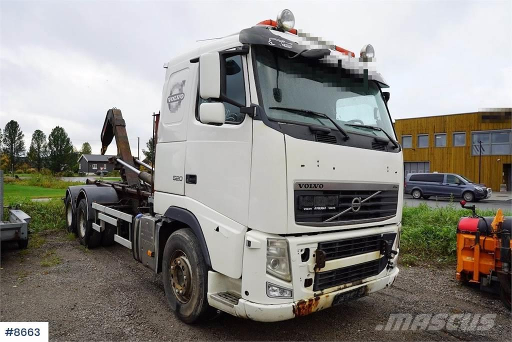 Volvo FH520 6x2 hook lift
