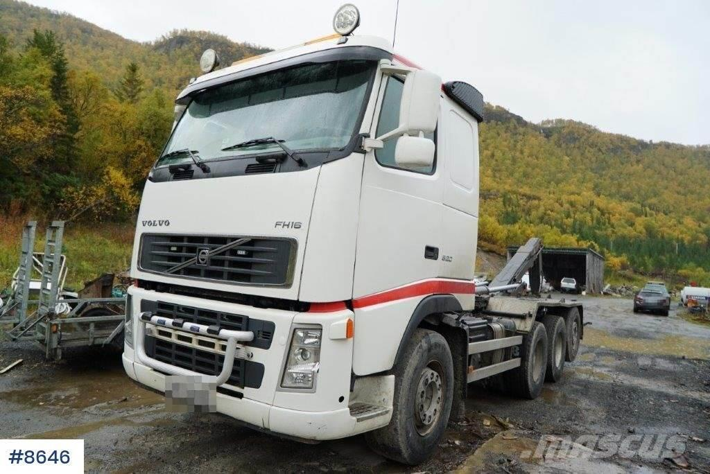 Volvo FH520 8x4 * 4 hook truck with hydraulics