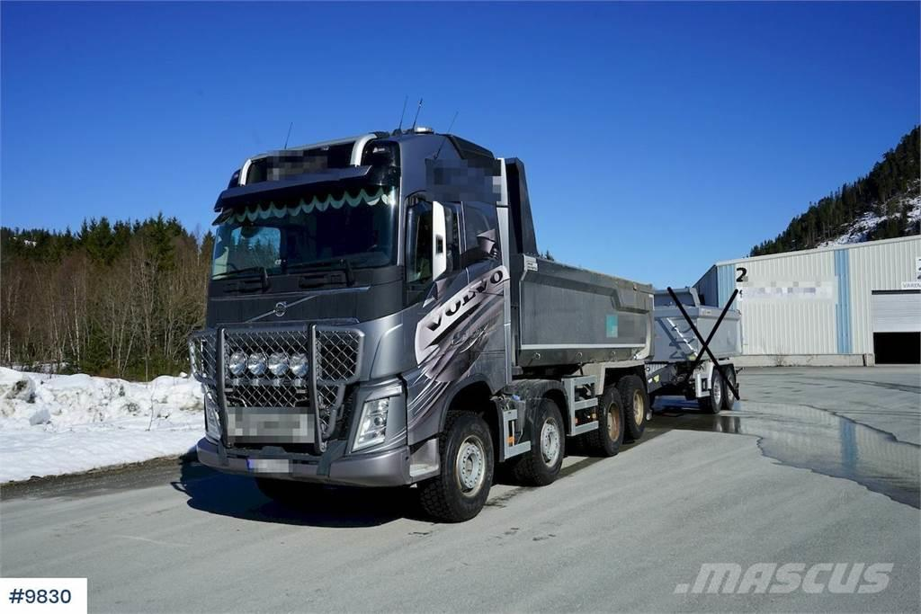 Volvo FH540 med 2018 Istrail 2 axle trailer.