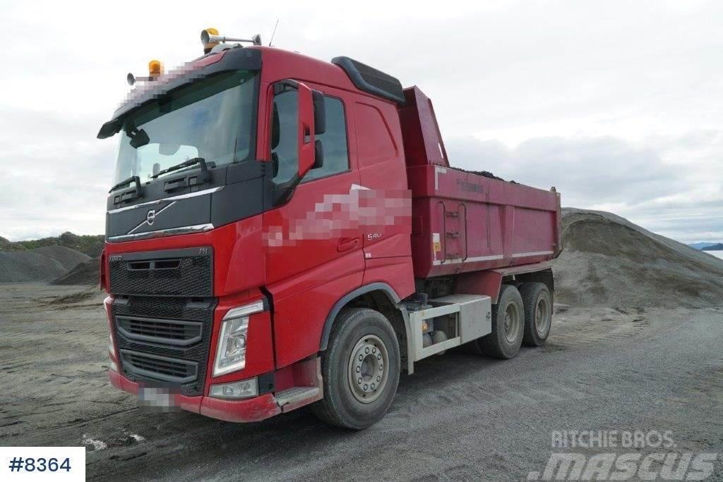 Volvo FH540 tipper truck