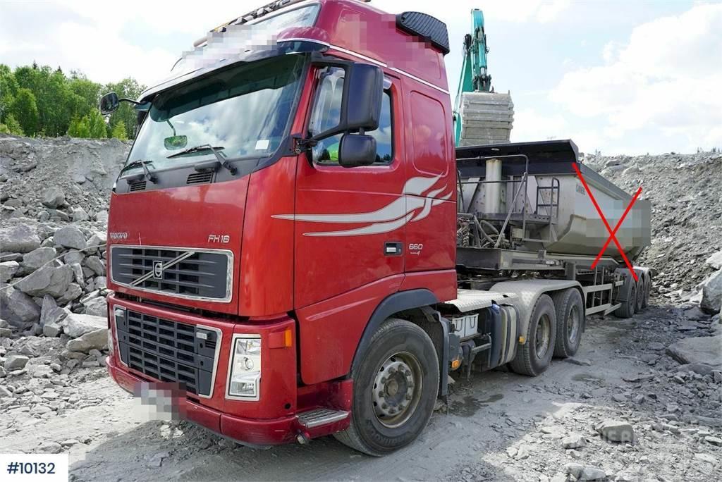 Volvo FH660 6x4 truck w / hydraulics