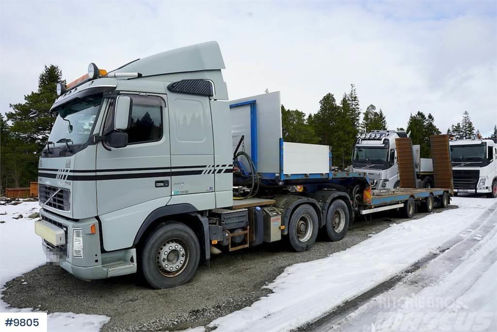 Volvo FH660 6x4 w / hydraulics & 2006 NoRslep machine tr