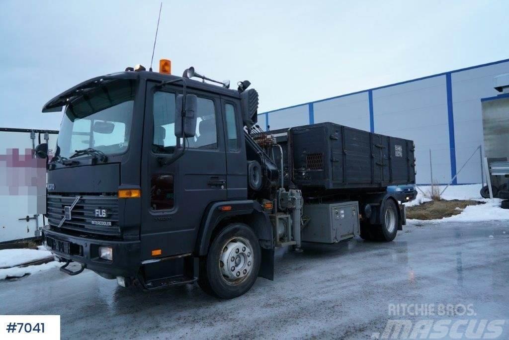 Volvo FL 615 crane truck