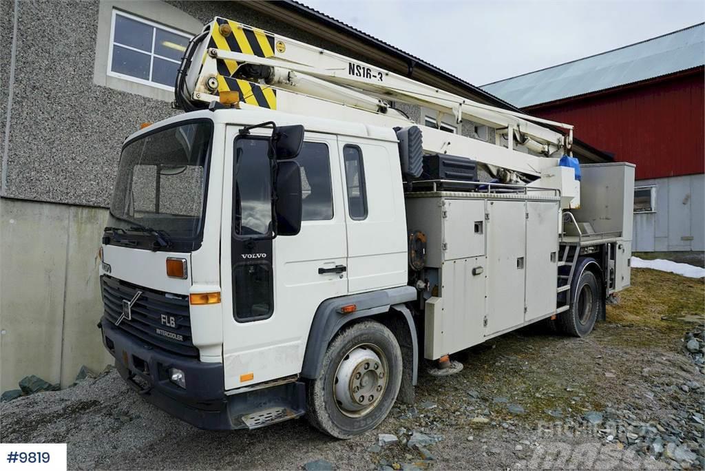 Volvo FL6 lift truck w / Nummela Skylift