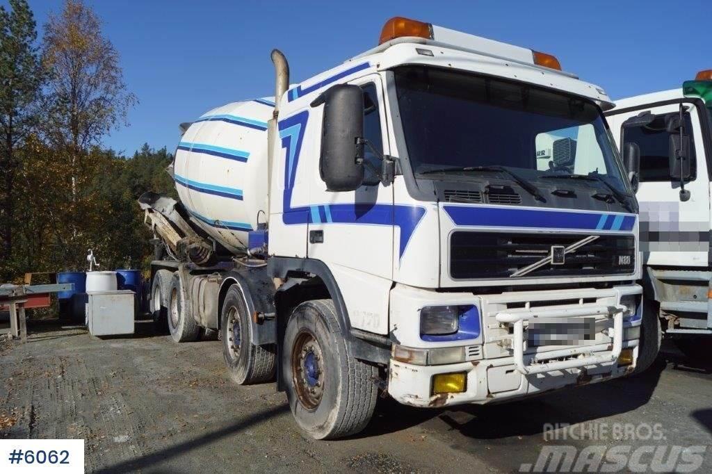 Volvo FM12 8x4 concrete truck w / drain
