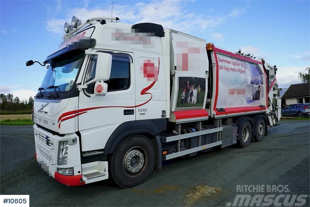 Volvo FM500 6x2 garbage truck