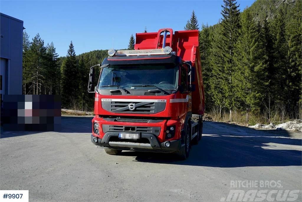 Volvo FMX 6x4 combination truck