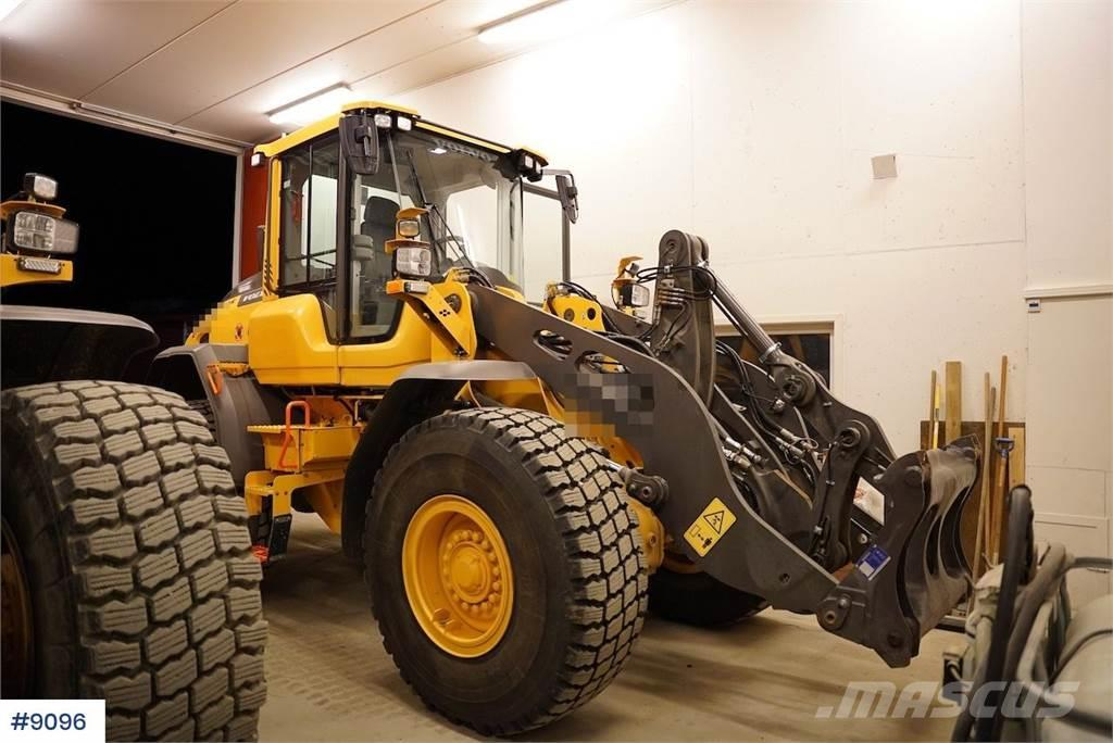 Volvo L70H wheel loader with only 227 hours