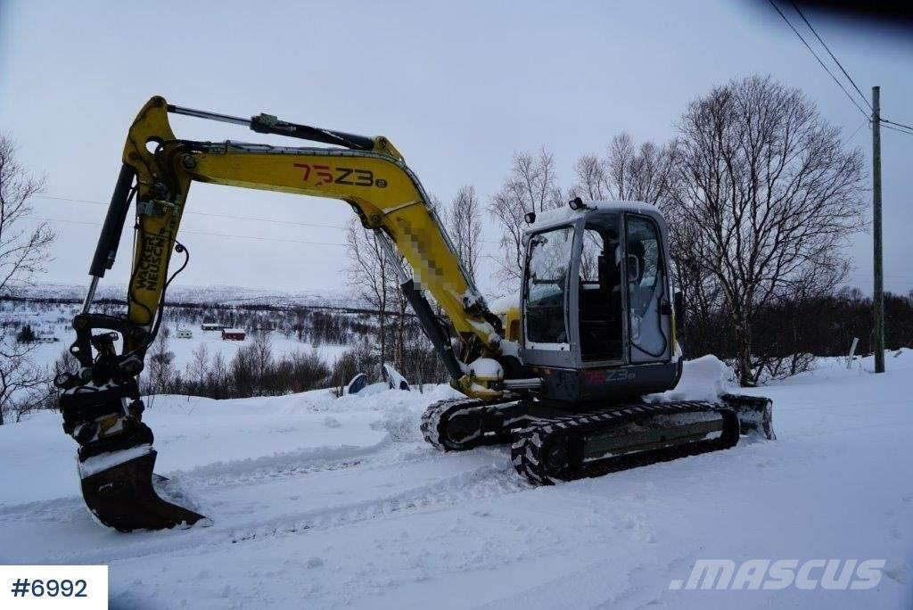 Wacker Neuson 75 Z3 excavator