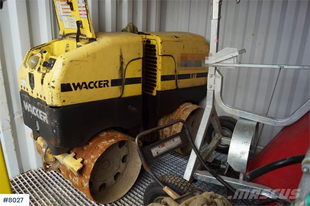 Wacker Neuson RT-82C Drum with few hours WATCH VIDEO
