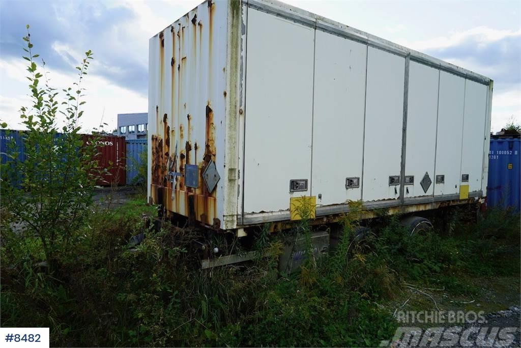 Wilco container trailer w / container