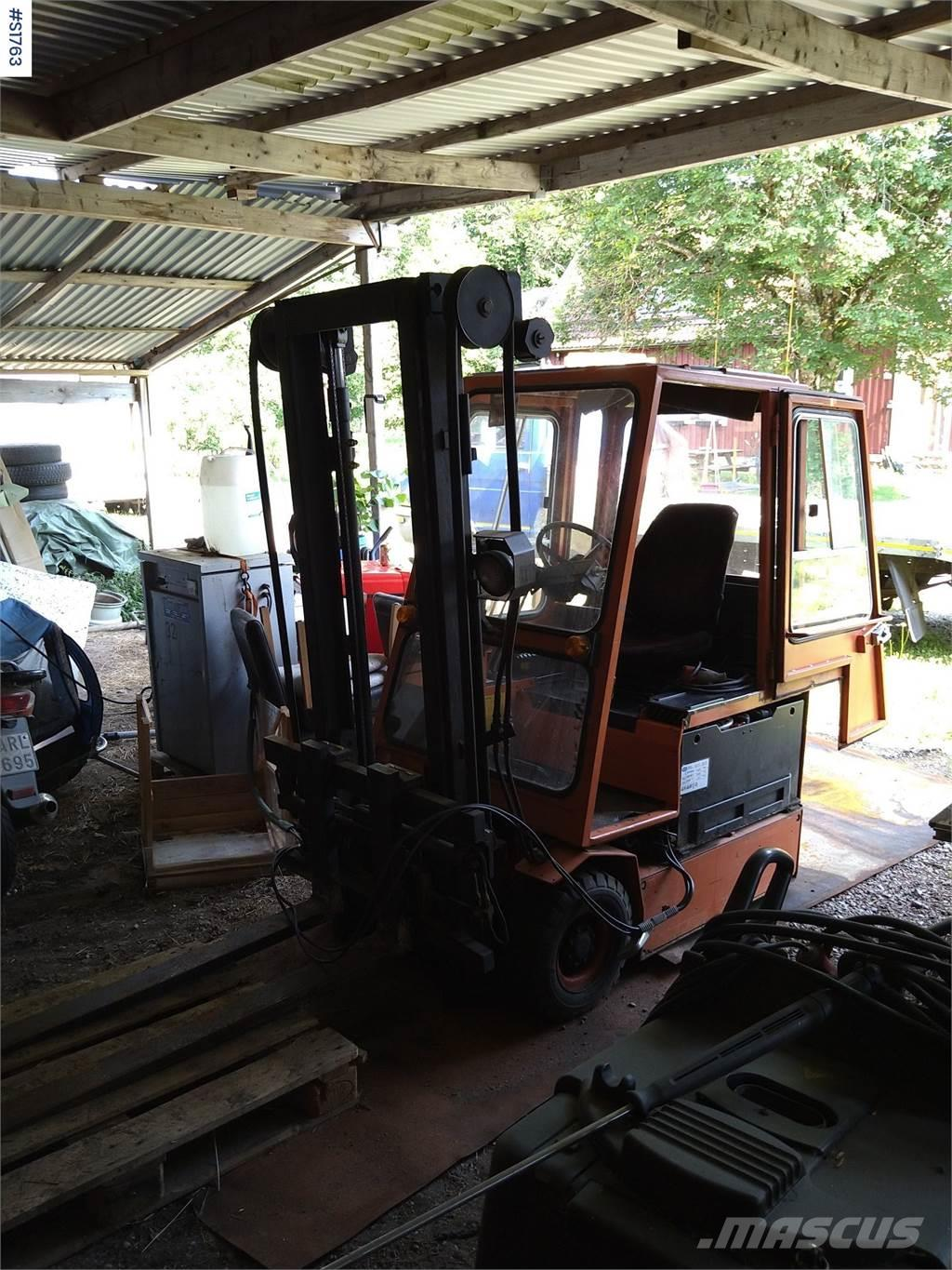 Asea AT 150E, Electric forklift