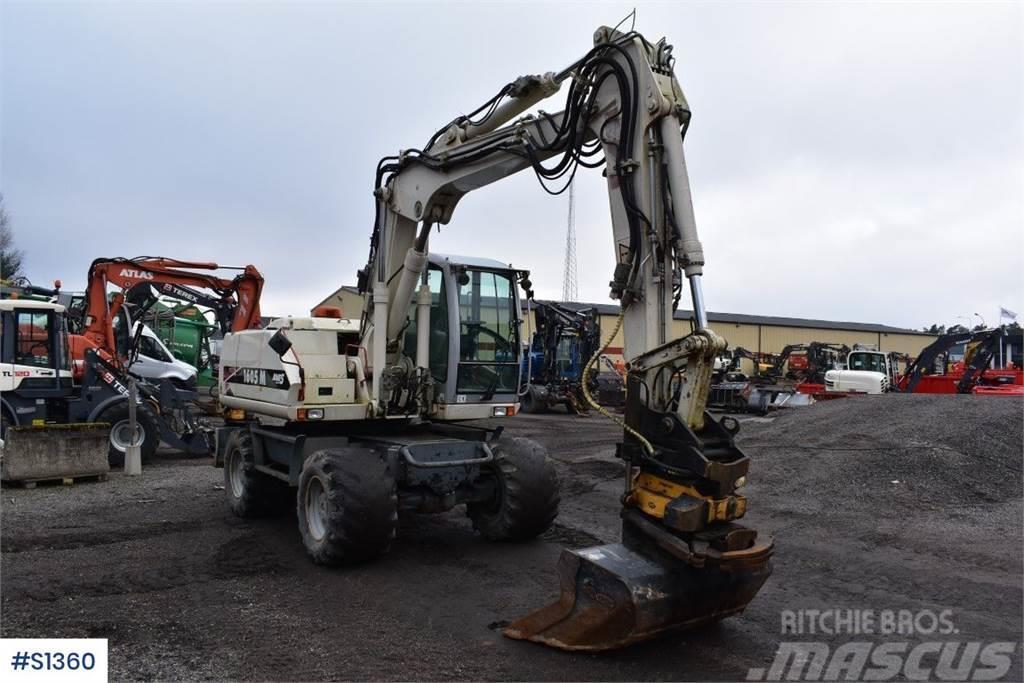 Atlas 1605M, Wheeled Excavator