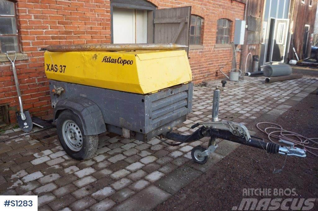 Atlas Copco XAS 37, Kompressor with Vermeer soilbreaker