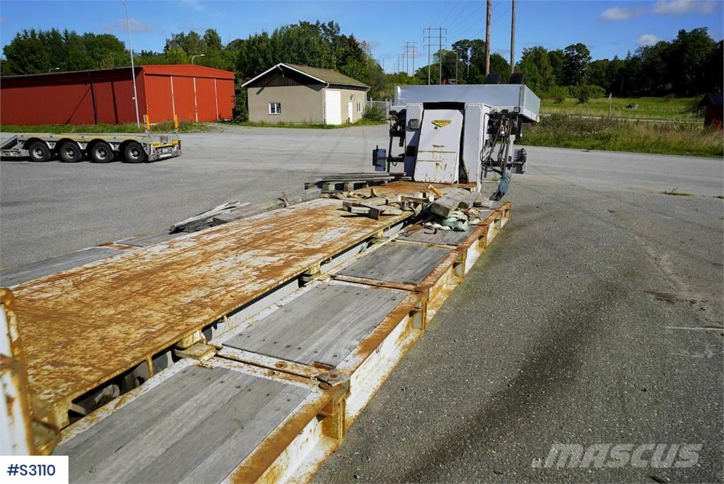 Broshuis 7DDC-101 5+2 axle Low Bed Machine Trailer with Dol