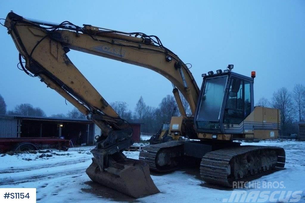 CASE 1188, tracked excavator
