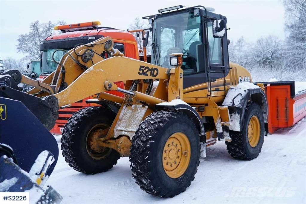 CASE 521D Wheel Loader without bucket