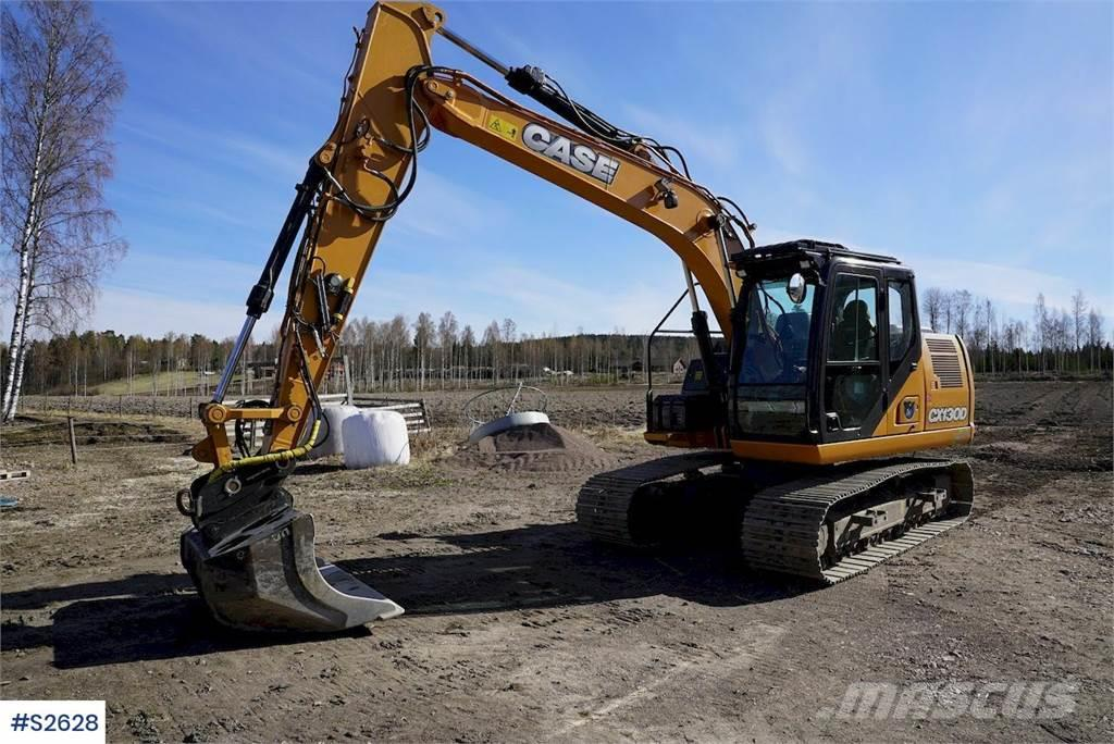 CASE CX130D Excavator with Moba 2D