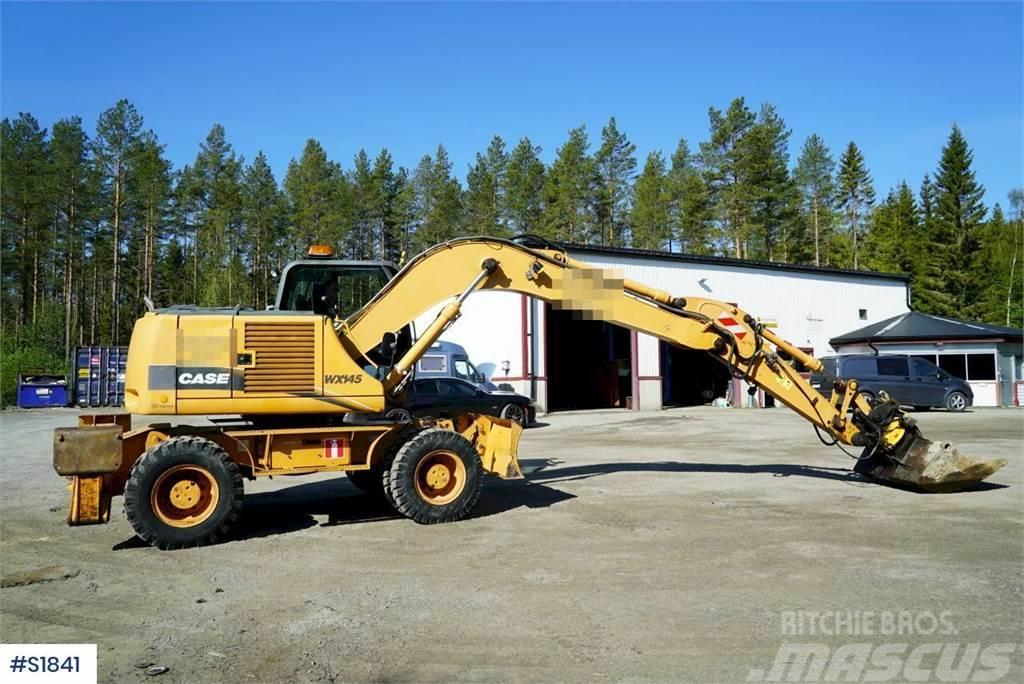 CASE WX 145 Hjulgrävare Wheeled Excavator