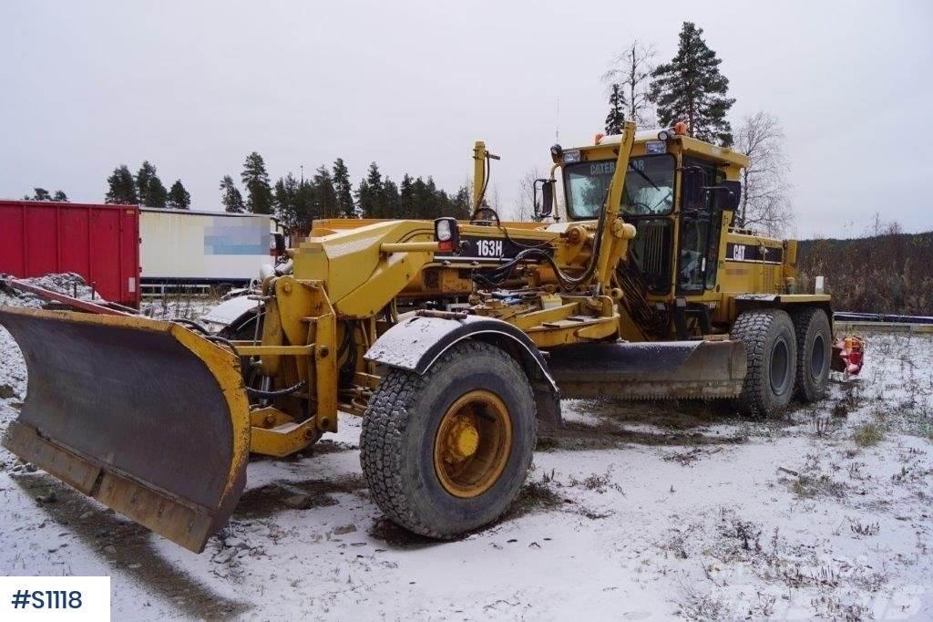 Caterpillar 163H 6x6, Motor Grader