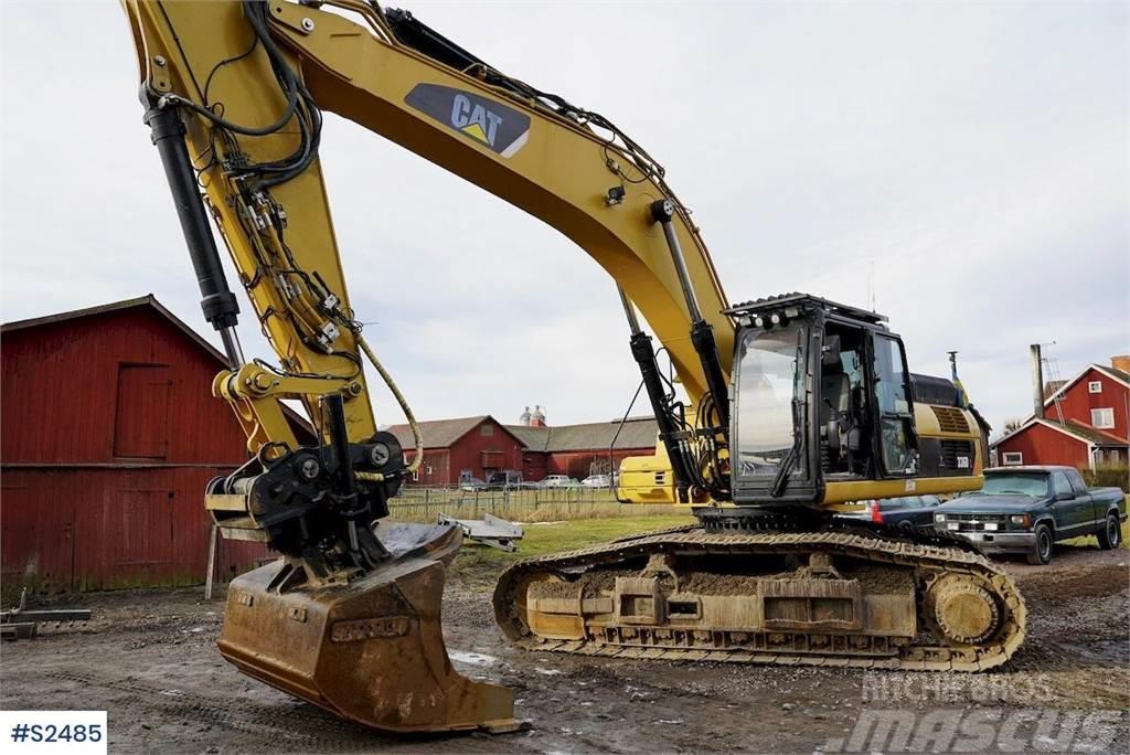 Caterpillar 336DL Excavator with GPS system