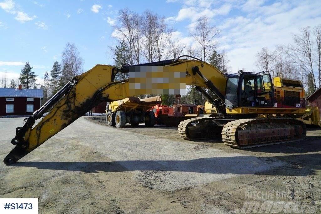 Caterpillar 365CL, Excavator