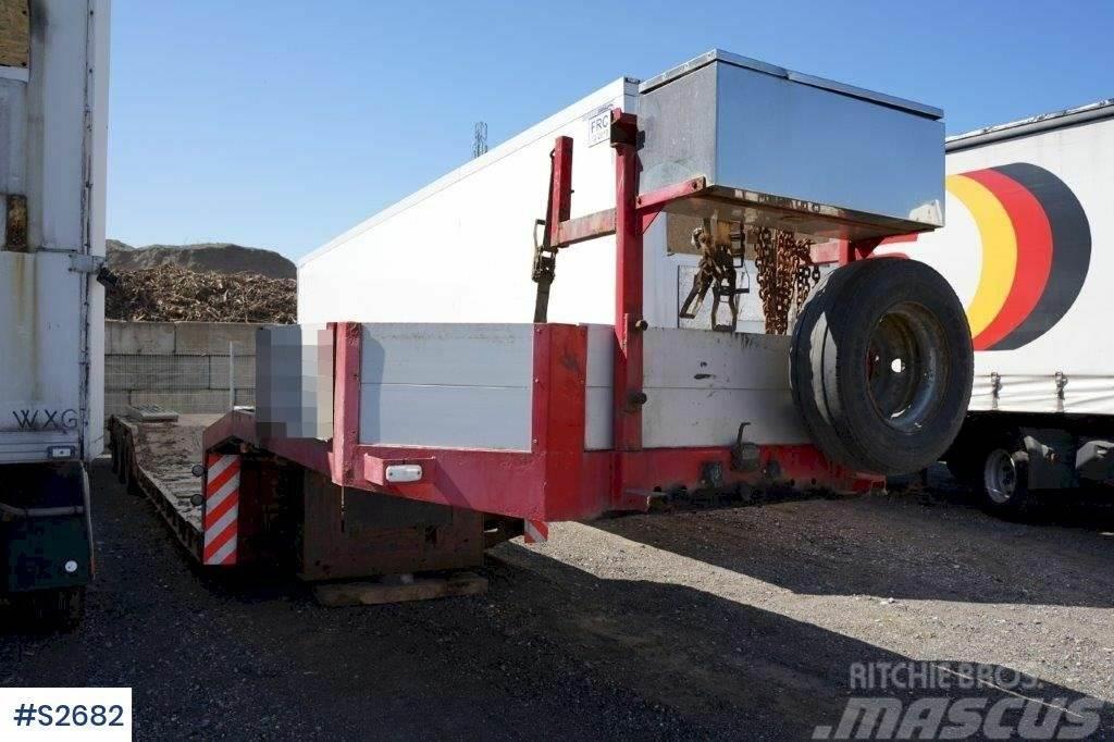 Goldhofer Special Transport Machine Trailer