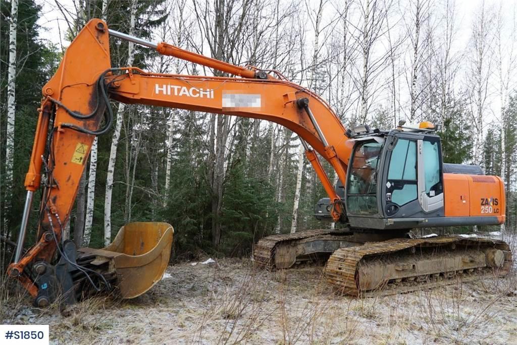 Hitachi ZX 250LC Bandgrävare Excavator