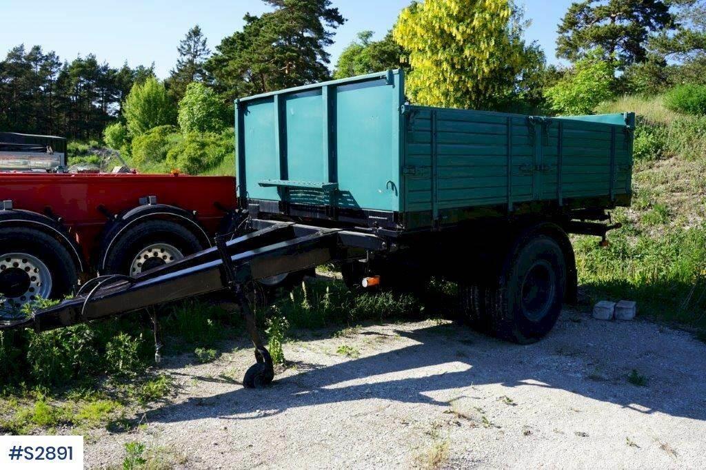 Ilsbo one axled Trolley