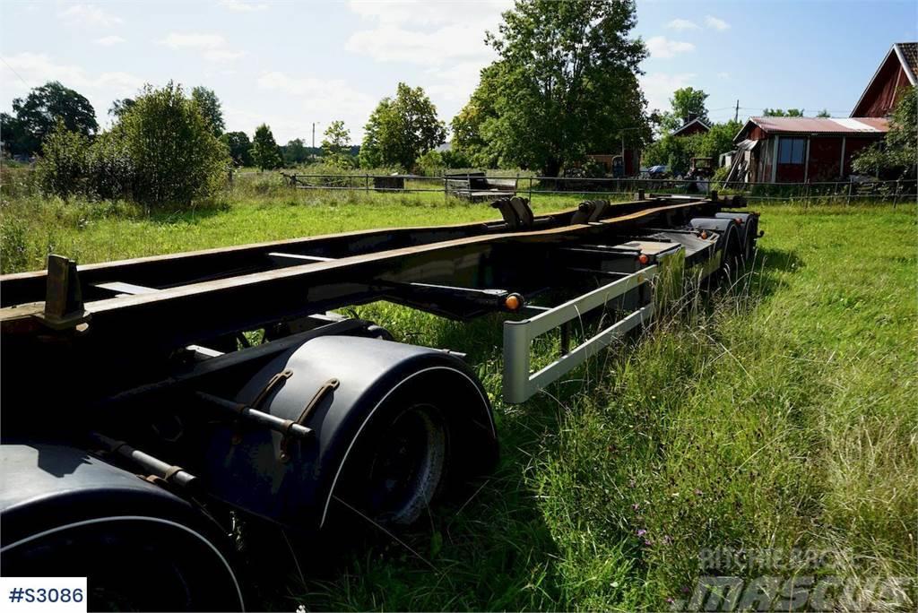 Istrail 4 axle Hook Truck Trailer