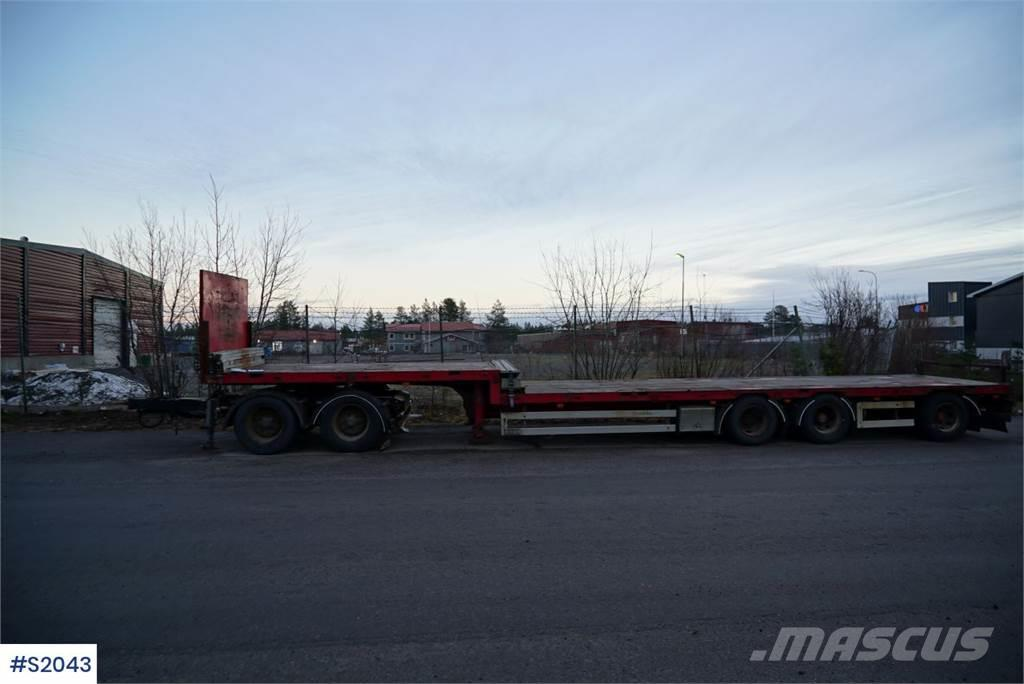 Istrail Jumbo Semi Trailer with Dolly