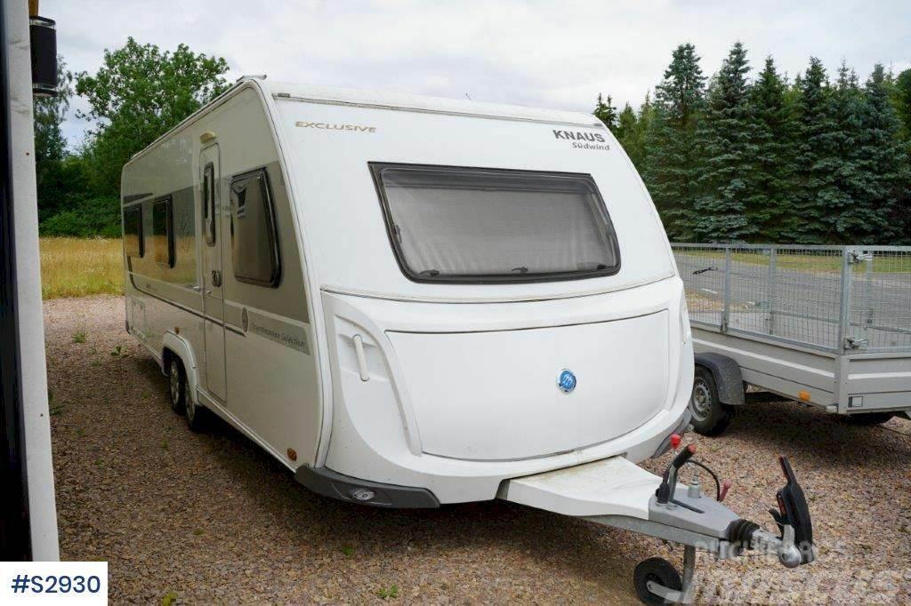 Knaus Exclusive W08 Caravan