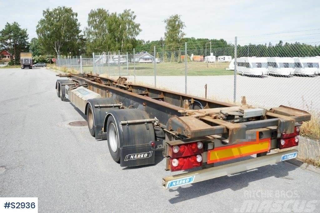 Närko D4YF51H11 Hook Truck Trailer