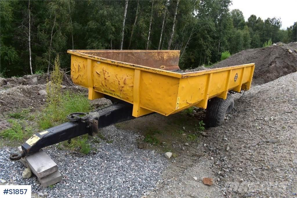 Palmse 6 ton Tipping Trailer