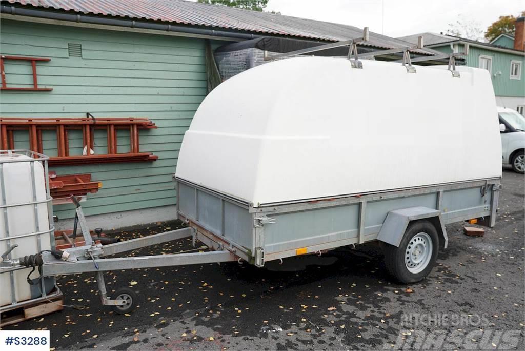 Reko trailer with chapel
