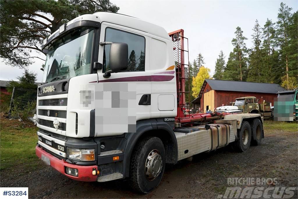Scania 144G 530 6x2 Hook Truck