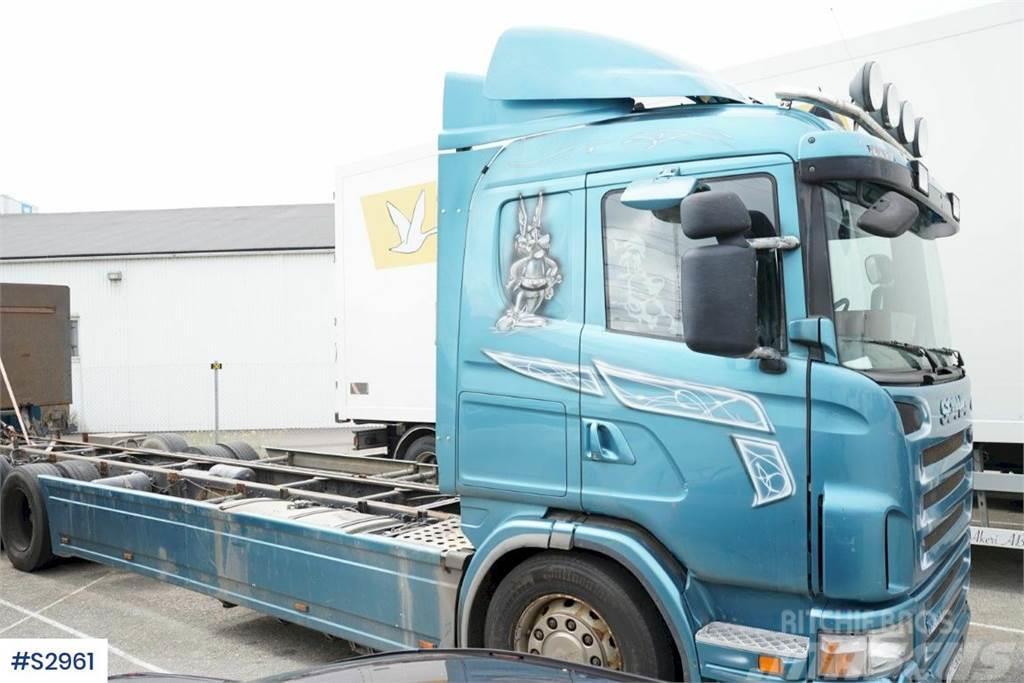 Scania G420 6x2, Truck