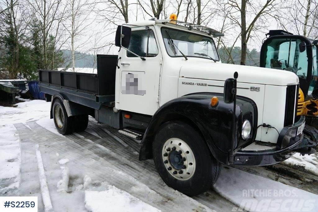 Scania L56 50, truck for machine transport
